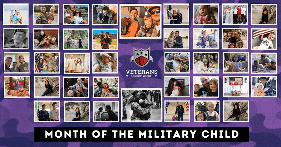 Veterans Lending Group April Month of Military Child