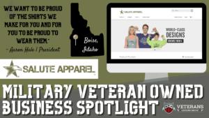VLG Veteran-Owned Business Spotlight: Salute Apparel